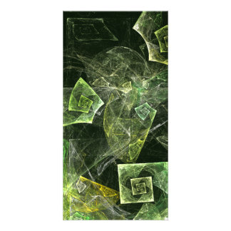Twisted Balance Abstract Art Photo Card
