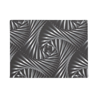Twisted – Black Steel Doormat