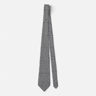 Twisted Checkers Tie