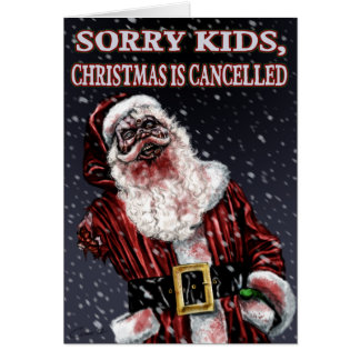 Twisted Christmas Greeting Card