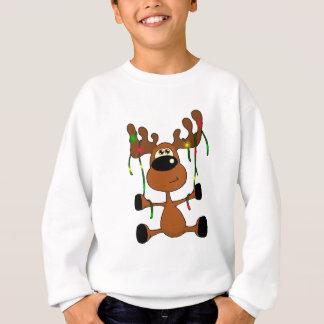 Twisted Christmas Moose Sweatshirt