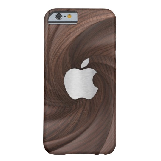 Twisted dark brown wood case