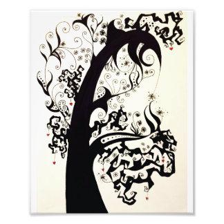 Twisted Heart Tree Photo Print