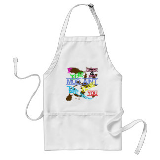 Twisted If The Mud Aint Flyin You Aint Tryin Standard Apron