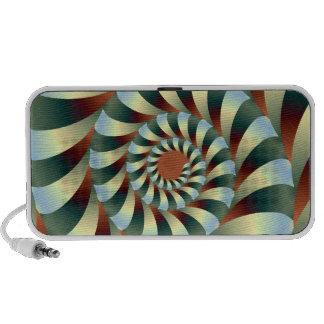 Twisted Inside iPod Speaker