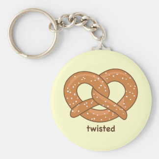 Twisted Key Ring