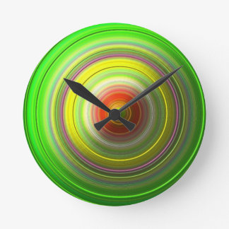 Twisted Lime Clock