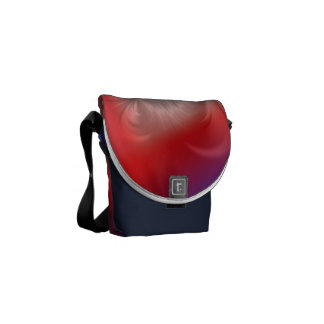 Twisted Mix Courier Bag