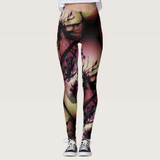 twisted nights women's leggings