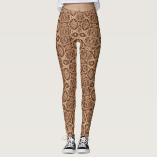 Twisted Rope Vintage Kaleidoscope  Leggings