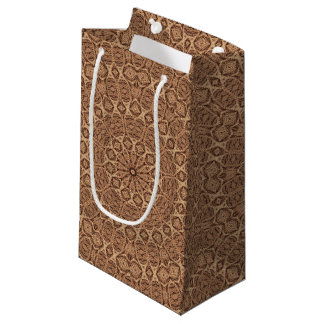 Twisted Rope Vintage Kaleidoscope Small Gift Bag