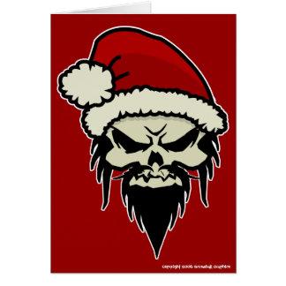 Twisted Santa Christmas Card