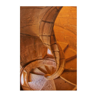Twisted Spiral Staircase, Portugal Acrylic Wall Art