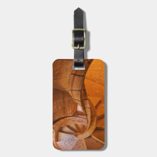 Twisted Spiral Staircase, Portugal Luggage Tag