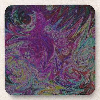 Twisted Stars Drink Coasters