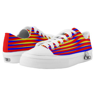 Twisted Stripes Printed Shoes