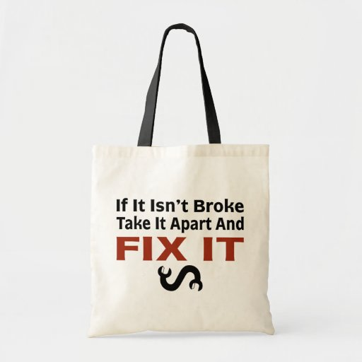 Twisted Wrench - FIX IT Tote Bag