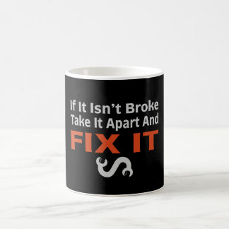 Twisted Wrench - FIX IT Basic White Mug