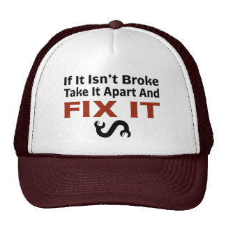 Twisted Wrench - FIX IT Hats
