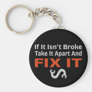 Twisted Wrench - FIX IT Key Ring