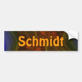 twister-fractal, Schmidt Bumper Sticker