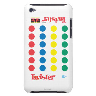 Twister Game Mat iPod Touch Cases