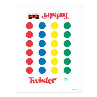 Twister Game Mat Postcard