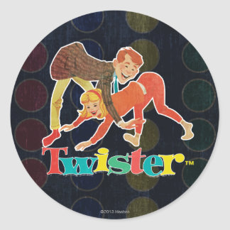 Twister Kids Classic Round Sticker