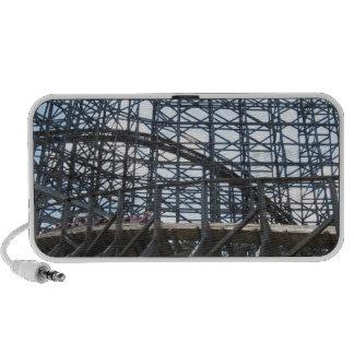 Twister Roller Coaster Knoebels Laptop Speaker