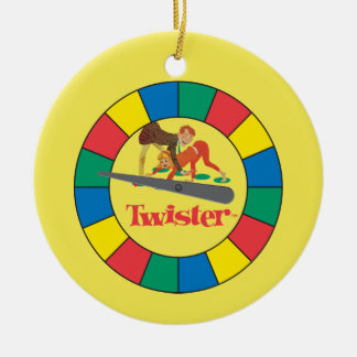 Twister Spinner Christmas Ornament