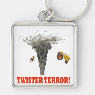 Twister Terror Keychain