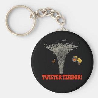 Twister Terror Keychains