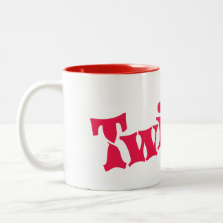 Twister Two-Tone Coffee Mug