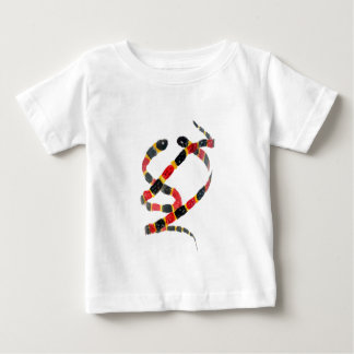 Twisting Snake Art Baby T-Shirt