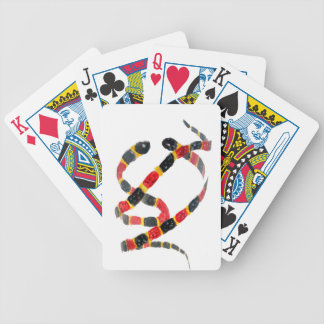 Twisting Snake Art Bicycle Playing Cards