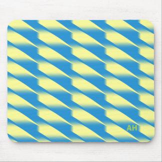 Twists of Yellow, Mousepad © AH 2015