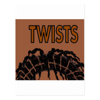 twists postcard
