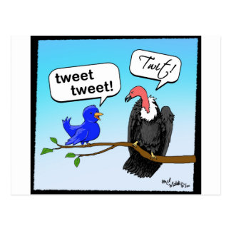 Twit Postcard