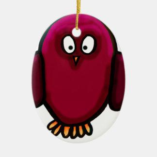 Twit twoo owl christmas ornament