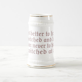 Twitched and Lost... 18 Oz Beer Stein