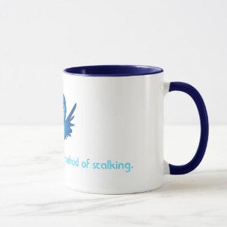 Twitter: Acceptable method of stalking. Mug