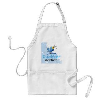 twitter addict standard apron