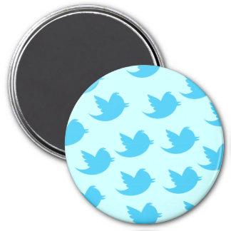 Twitter Bird 7.5 Cm Round Magnet