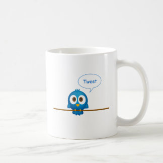Twitter bird mug