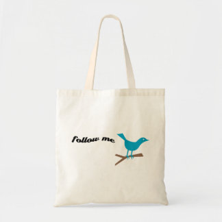 Twitter Blue Bird Follow Me Bag