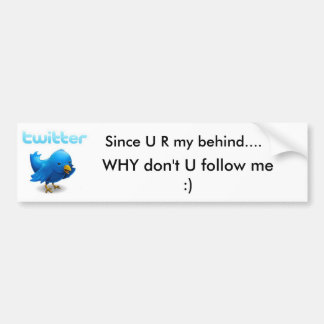 Twitter Bumper Sticker