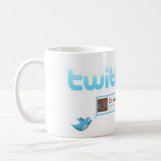 "Twitter ""Drinking tea"" Coffee Mug"