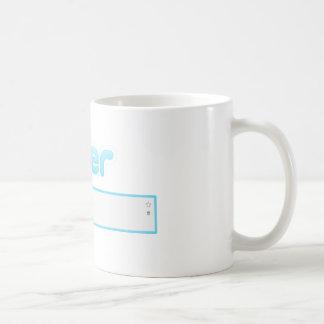 "Twitter ""Drinking tea"" Mug"