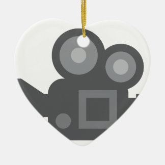 Twitter Emoji - Camera film making Christmas Ornament