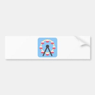 Twitter Emoji - Ferris Wheel Bumper Sticker